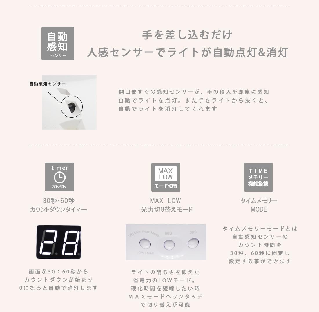 【宅急便送料無料】36w LED ジェルネイル スターター キット irogel 最新チップ型LEDライト搭載 話題のカラージェル(irogel)198色から4個選べるジェルネイルセット