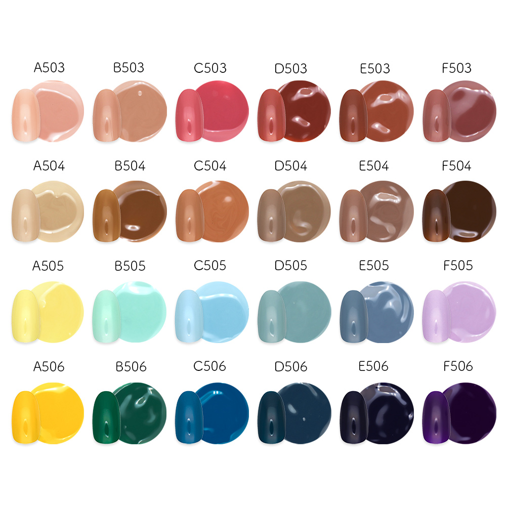 【ネコポス送料無料】irogel ワンステップジェル 5色セット 全42色から選べる UV、LEDにも対応 自爪に優しいソークオフタイプ キレイな発色