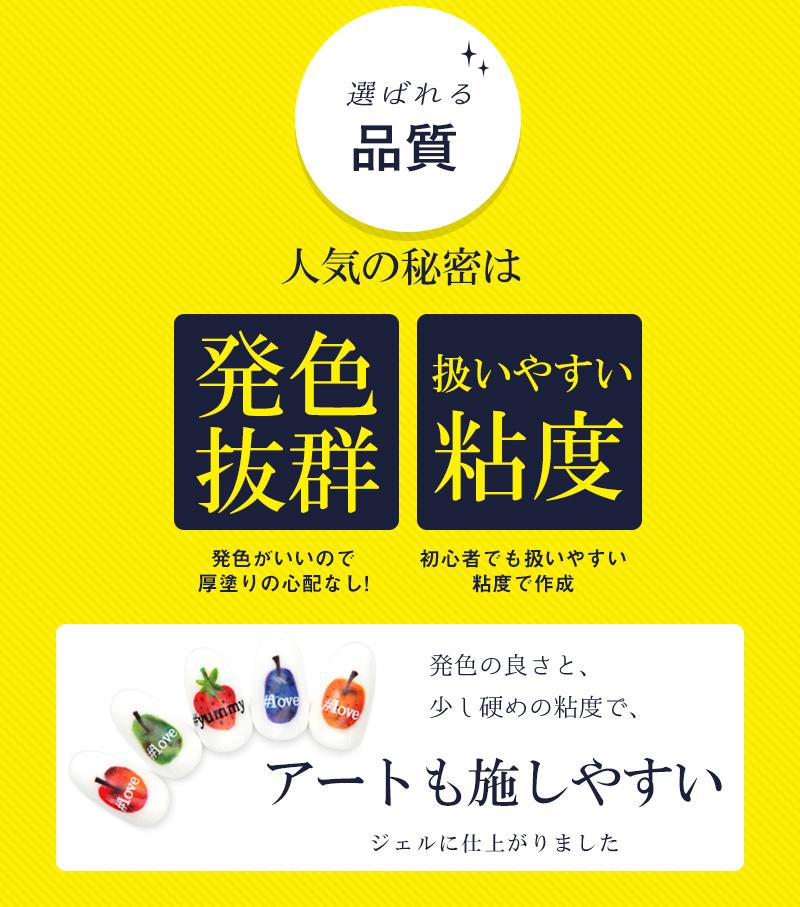 【ネコポス送料無料】ネイルタウンジェルスペシャル30色セット ベース・トップジェル・ジェルブラシ4本付き