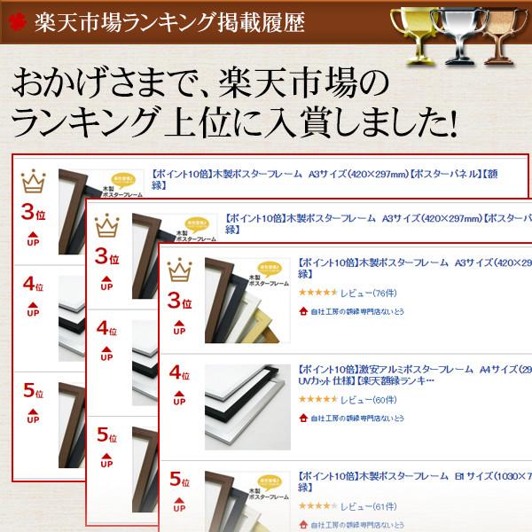 木製ポスターフレーム B1サイズ(1030×728mm)【UVカット仕様】【送料別商品】