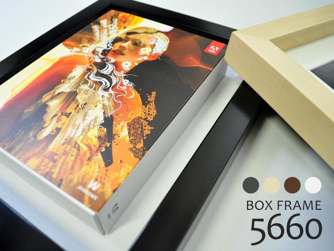 【塗装ムラ・キズ有】BOXフレーム 5660 インチ(254×203mm) 前面アクリル仕様