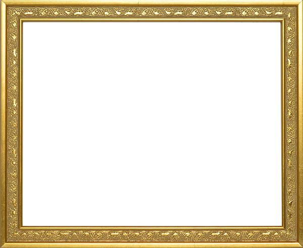 デッサン額縁 セーヌ/金 小全紙サイズ(660×509mm) ☆前面アクリル仕様☆ 【ラーソン・ジュール】