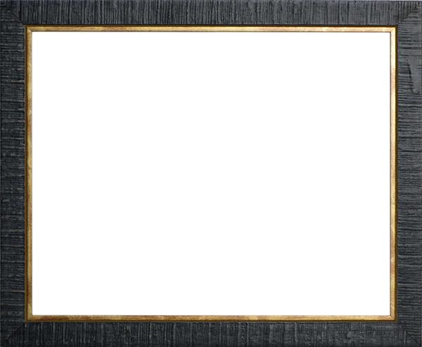 デッサン額縁 ロッキー/青 四つ切サイズ(424×348mm) 【ラーソン・ジュール】