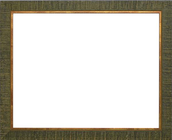 デッサン額縁 ロッキー/緑 小全紙サイズ(660×509mm) ☆前面アクリル仕様☆ 【ラーソン・ジュール】