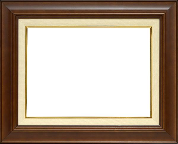 油絵用額縁 7720/ブラウン SM(227×158mm)
