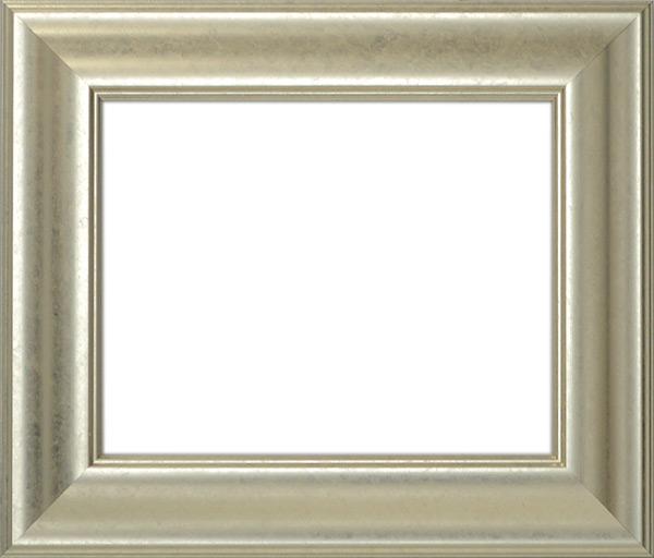 デッサン額縁 8120/シルバー 四つ切サイズ(424×348mm)