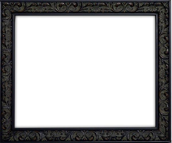 デッサン額縁 ソフィア/黒 大衣サイズ(509×394mm) 【ラーソン・ジュール】