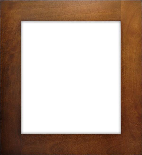 色紙額縁 W786/オーク 普通色紙(272×242mm)