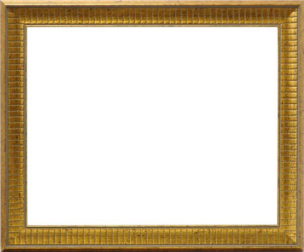 デッサン額縁 8143/ゴールド 四つ切(424×348mm)