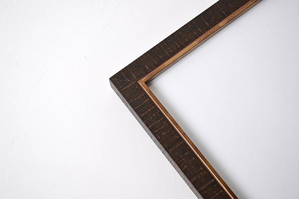 デッサン額縁 ロッキー/茶 八つ切サイズ(303×242mm) 【ラーソン・ジュール】