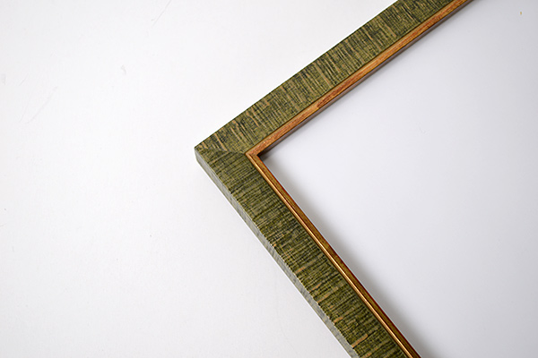 デッサン額縁 ロッキー/緑 八つ切サイズ(303×242mm) 【ラーソン・ジュール】