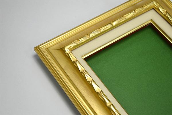 油絵用額縁 7811/ゴールド SM(227×158mm)