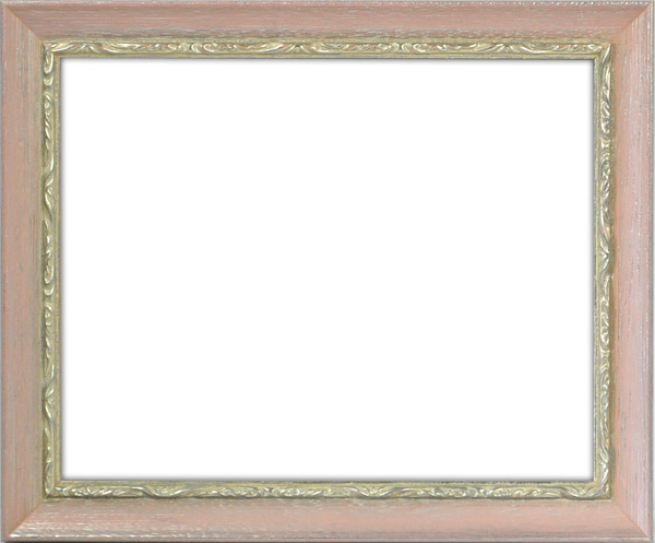 デッサン額縁 モナコ/桃 小全紙(660×509mm) ☆前面アクリル仕様☆ 【ラーソン・ジュール】
