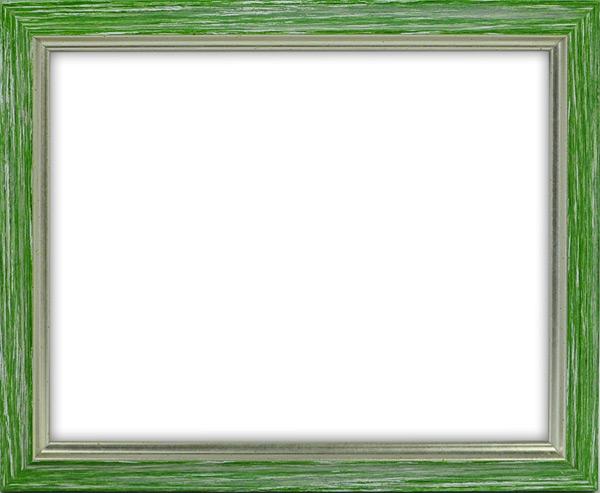 デッサン額縁 マルセイユ/緑 四つ切(424×348mm) ☆前面アクリル仕様☆ 【ラーソン・ジュール】