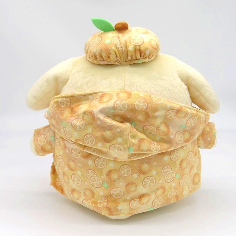 サンリオキャラクターズ フルーツパーカー ポムポムプリン ぬいぐるみM