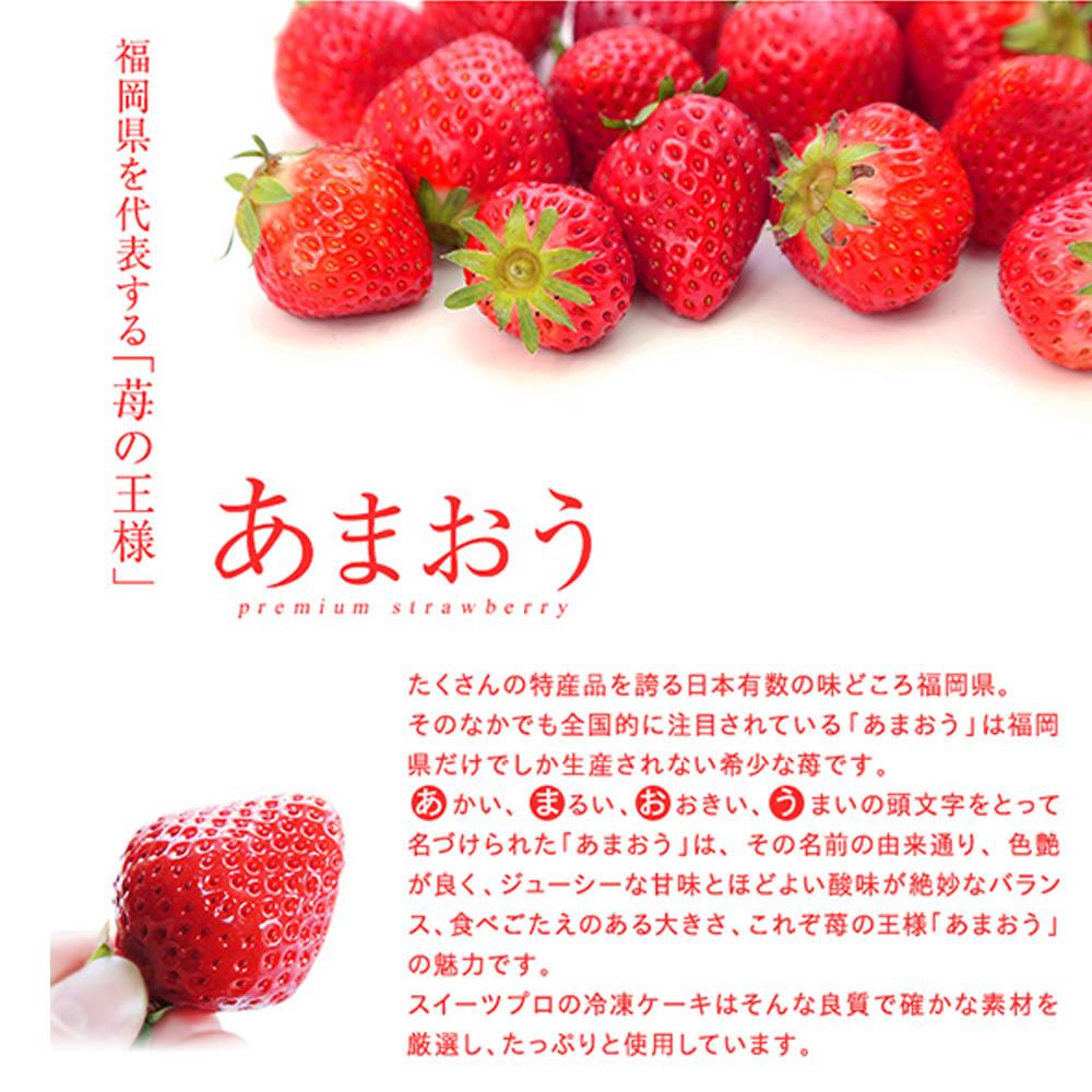 福岡あまおう苺モンブラン  260g(65g×4個入り)