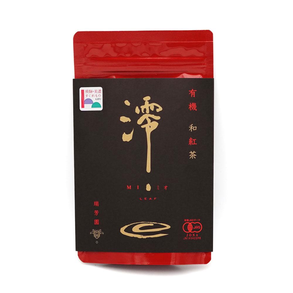 有機 和紅茶 澪-mio- リーフ50g 50g