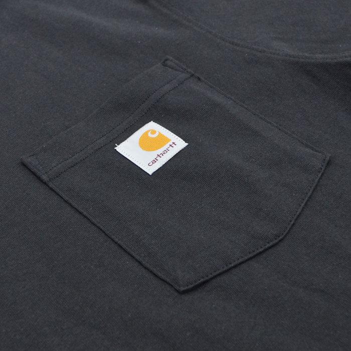 GRIZZLY × Carhartt グリズリー × カーハート Tシャツ BEAR DOWN POCKET T-SHIRT 半袖 カットソー トップス メンズ S-XL ブラック ネイビー 【単品購入の場合はネコポス便発送】【送料無料】