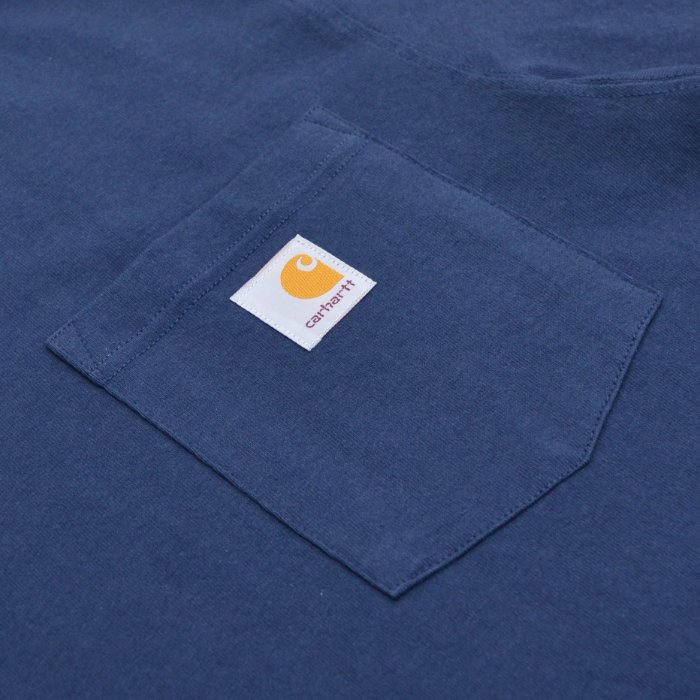 GRIZZLY × Carhartt グリズリー × カーハート Tシャツ PUTTING IN WORK POCKET T-SHIRT 半袖 カットソー トップス メンズ S-XL ブラック ネイビー 【単品購入の場合はネコポス便発送】【送料無料】