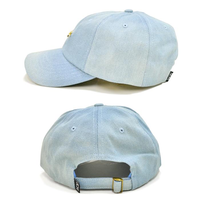 DOPE ドープ 24K SCRIPT DENIM DAD HAT CAP キャップ 6-PANEL CAP 帽子 ストラップバックキャップ 6パネルキャップ メンズ レディース ユニセックス ストリート 【送料無料】