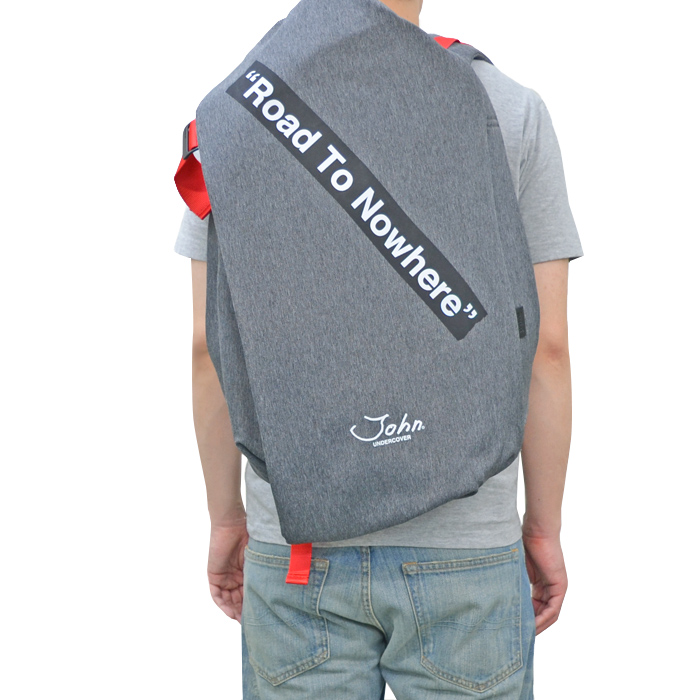 COTE&CIEL コートエシエル Isar Large Eco Yarn John UNDERCOVER Lサイズ バックパック リュック カバン デイバッグ 鞄 グレー 28786 【送料無料】