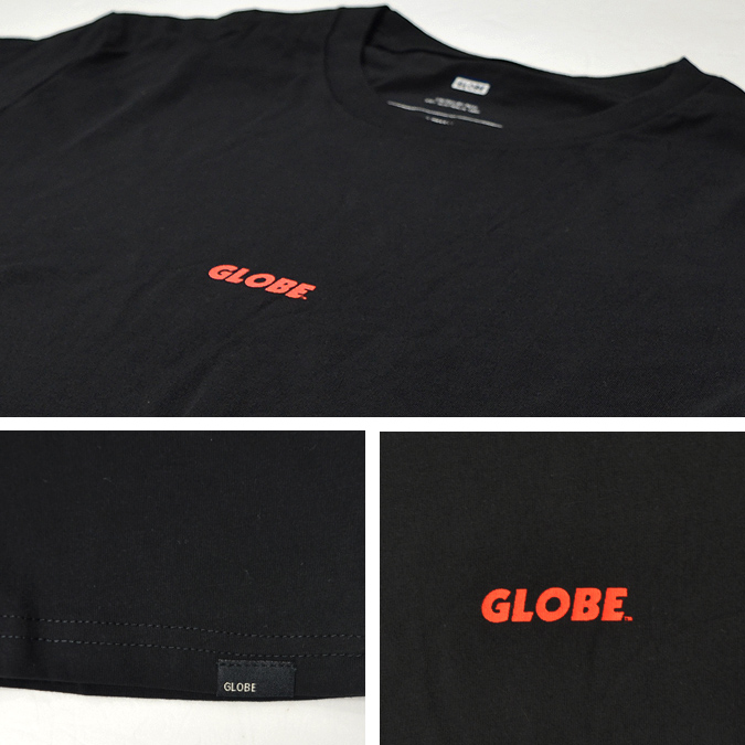 GLOBE グローブ 94 TEE Tシャツ 半袖 メンズ クルーネックTシャツ ティーシャツ ストリート スケート 【単品購入の場合はネコポス便発送】【サマーセール】【送料無料】