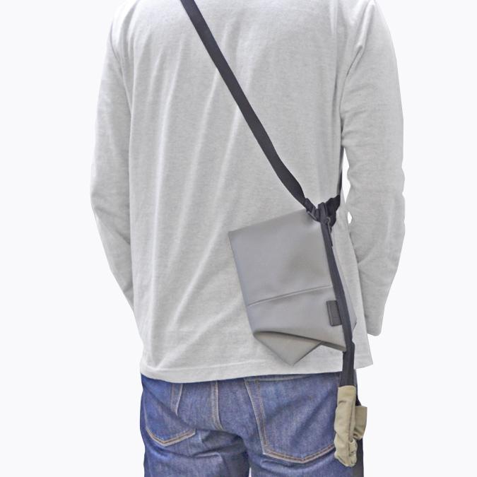 COTE&CIEL コートエシエル KIVU SMALL SLEEK NYLON ポーチ ショルダーバッグ ボディバッグ ハンドバッグ 鞄 ブラック グレー 28845 28846 【送料無料】