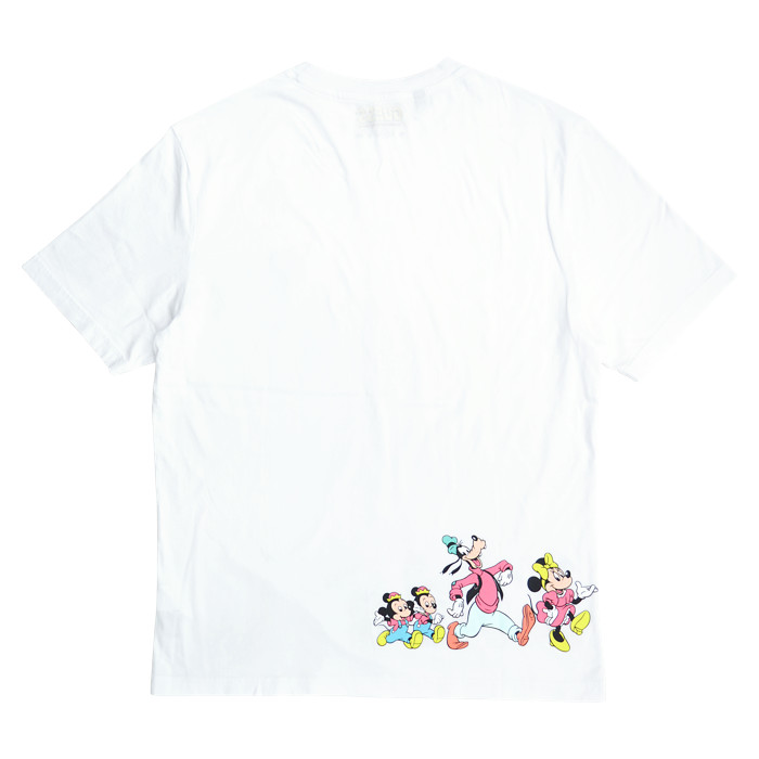 GUESS ゲス Tシャツ Mickey & Friends Small Triangle S/S TEE 半袖 カットソー トップス ミッキー & フレンズ コラボ メンズ M-XL ホワイト ML2K7774DM 【単品購入の場合はネコポス便発送】【送料無料】