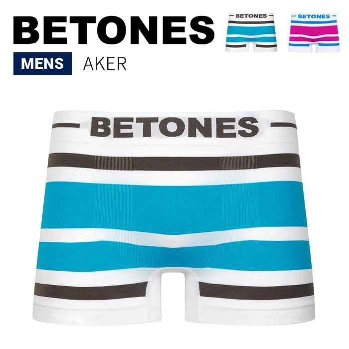 BETONES ビトーンズ ボクサーパンツ アンダーウェア AKER UNDERWEAR 下着 インナー ショーツ メンズ B001 【単品購入の場合はネコポス便発送】