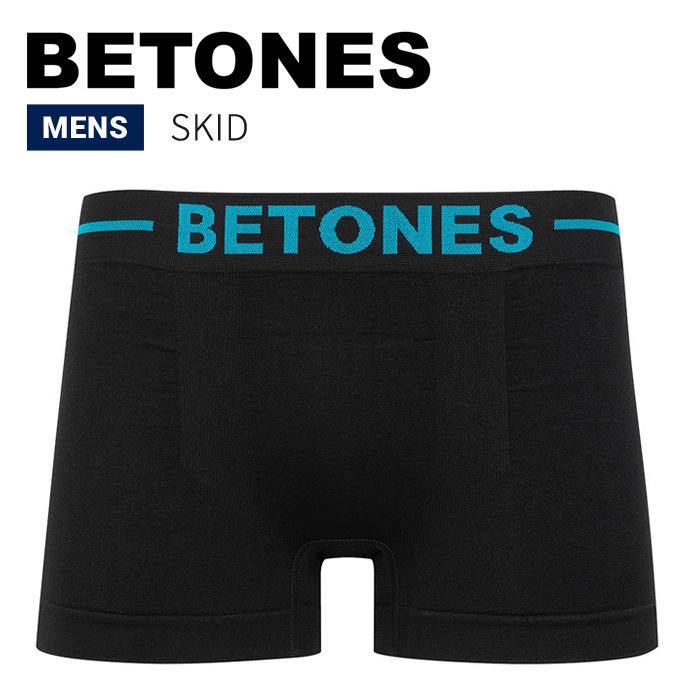 BETONES ビトーンズ ボクサーパンツ アンダーウェア SKID UNDERWEAR 下着 インナー ショーツ メンズ B002 【単品購入の場合はネコポス便発送】