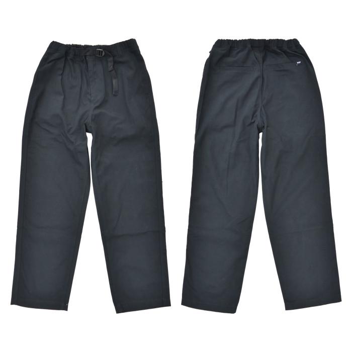 HUF ハフ パンツ RUNYON EASY PANT イージーパンツ ワークパンツ S-XL ブラック PT00180 【送料無料】