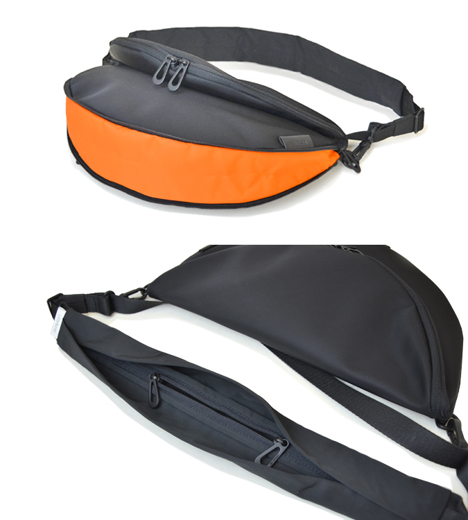 COTE&CIEL コートエシエル HALA SMALL SLEEK NYLON ショルダーバッグ ボディバッグ Sサイズ 鞄 ブラック 28853 【送料無料】
