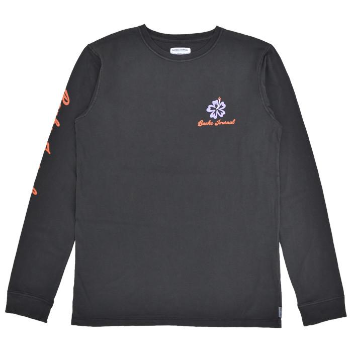 BANKS JOURNAL バンクス ジャーナル ロンT CANOPY L/S T-SHIRT TEE 長袖 Tシャツ トップス カットソー メンズ S-XL ブラック アーミー WLTS0063 【単品購入の場合はネコポス便発送】【送料無料】
