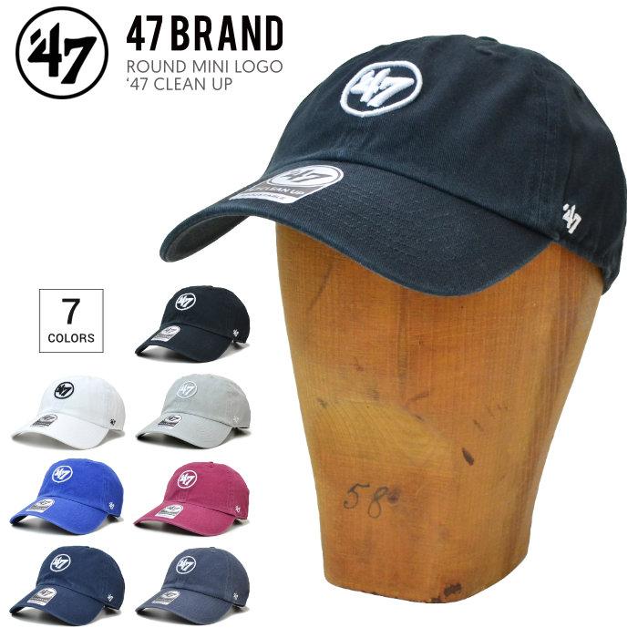 '47 フォーティーセブン キャップ ROUND MINI LOGO 47 CLEAN UP CAP クリーンナップキャップ 帽子 ストラップバックキャップ 【送料無料】