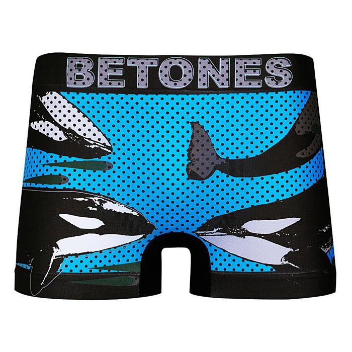 BETONES ビトーンズ ボクサーパンツ アンダーウェア ANIMAL4 UNDERWEAR 下着 インナー ショーツ アニマル柄 メンズ D004 【単品購入の場合はネコポス便発送】