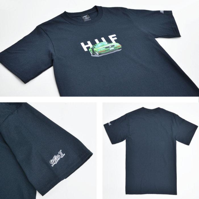 HUF × STREET FIGHTER ハフ × ストリートファイター Tシャツ BONUS STAGE S/S TEE 半袖 カットソー トップス メンズ S-XL ブラック TS01559 【単品購入の場合はネコポス便発送】【送料無料】