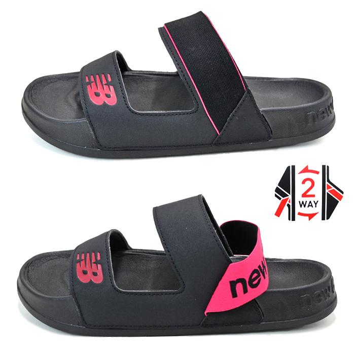 NEW BALANCE ニューバランス SWF202 サンダル SANDAL スライドサンダル スポーツサンダル Bワイズ レディースサイズ アメカジ シューズ 靴 【送料無料】