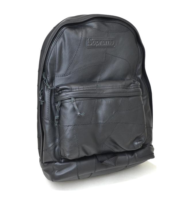 Supreme シュプリーム バックパック PATCHWORK LEATHER BACKPACK リュック レザー 鞄 BAG SUPREME 【送料無料】