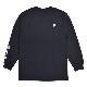 PRIMITIVE プリミティブ ロンT CONTACT L/S TEE 長袖 Tシャツ カットソー トップス メンズ M-XL ブラック 【単品購入の場合はネコポス便発送】【送料無料】