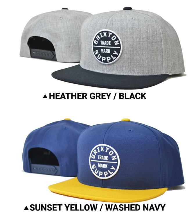 BRIXTON ブリクストン キャップ OATH III SNAPBACK CAP 6パネルキャップ OATH 3 スナップバックキャップ 帽子 【送料無料】