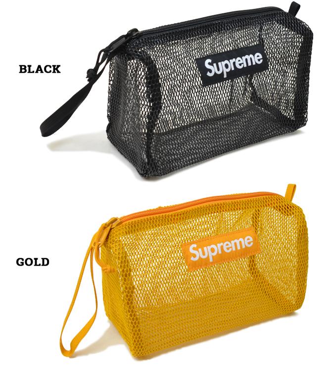 Supreme シュプリーム UTILITY POUCH ポーチ トラベルポーチ マルチケース BAG バッグ 鞄 ブラック ゴールド SUPREME 20SS