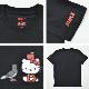 STAPLE ステイプル × HELLO KITTY ハローキティ Tシャツ FRIENDS TEE 半袖 カットソー トップス メンズ S-XL ブラック ホワイト 2010C6357 【単品購入の場合はネコポス便発送】