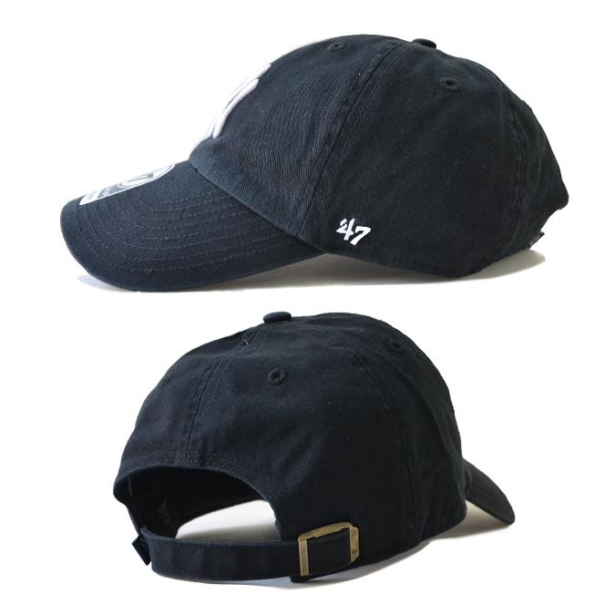 47BRAND (フォーティーセブン ブランド) キャップ YANKEES 47 CLEAN UP CAP クリーンナップキャップ 帽子 ストラップバックキャップ MLB メンズ レディース ユニセックス 【送料無料】