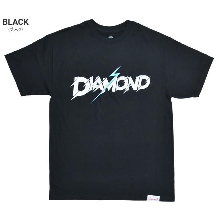 DIAMOND SUPPLY Co. ダイヤモンド サプライ Tシャツ FLASH TEE 半袖 カットソー トップス メンズ M-XL ブラック ホワイト 【単品購入の場合はネコポス便発送】【送料無料】