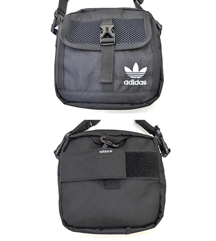 adidas アディダス バッグ LARGE FESTIVAL CROSSBODY BAG ショルダーバッグ クロスボディバッグ 鞄 ブラック EV7575 【送料無料】