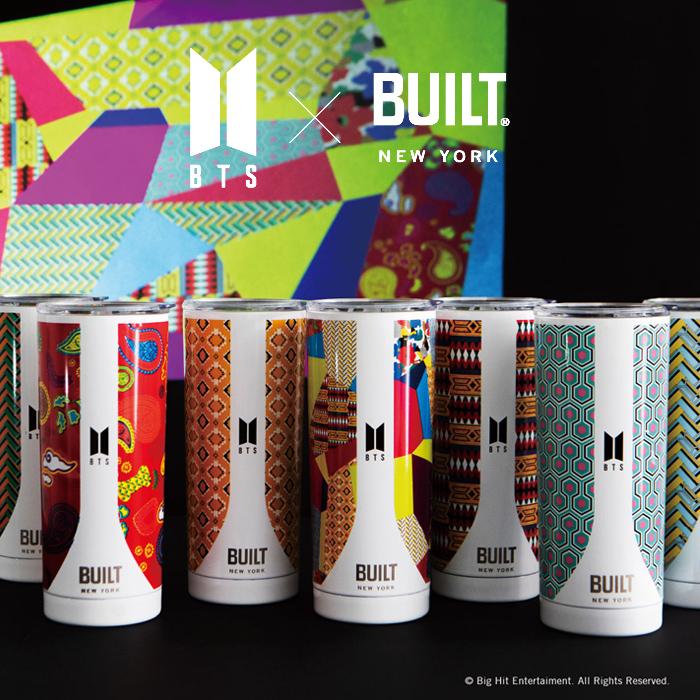 BTS × BUILT ビルト 防弾少年団 ステンレス タンブラー 591ml BTSボトル BTSコラボ 【送料無料】