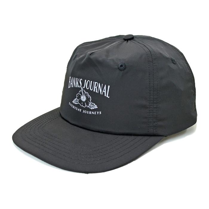 BANKS JOURNAL バンクス ジャーナル キャップ FRUITS CAP HAT 帽子 スナップバックキャップ SNAPBACK CAP 5パネルキャップ 5-PANEL ブラック HA0138 【送料無料】