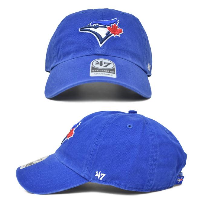 '47 フォーティーセブン BLUEJAYS 47 CLEAN UP CAP クリーンナップ キャップ 帽子 ストラップバックキャップ MLB メンズ レディース ユニセックス 【送料無料】