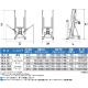 可搬式ウインチ式荷物用昇降台:HLA-35/49/64/78/35W/49W:ピカ