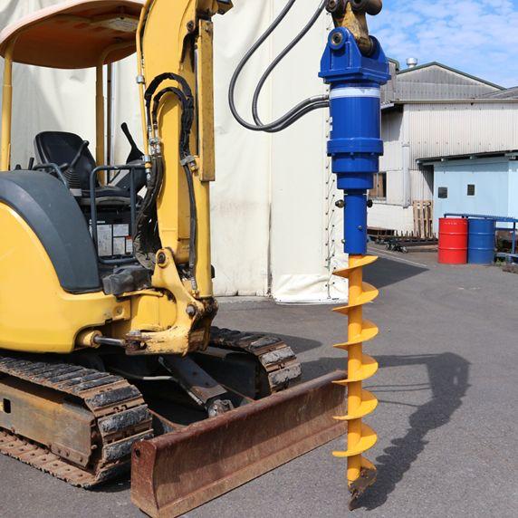 丸善工業 搭載型油圧オーガー AG-3000